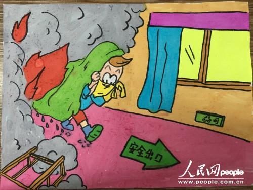 浙江湖州织里实验小学4000名学生参与小手绘