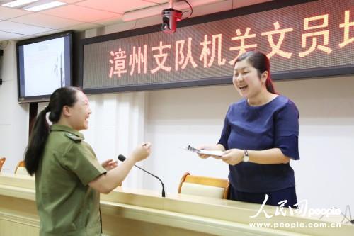 福建漳州消防组织文员培训 推进政府专职消防