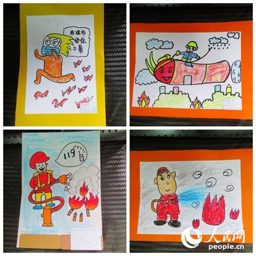 小消防员 儿童主题绘画活动精彩纷呈