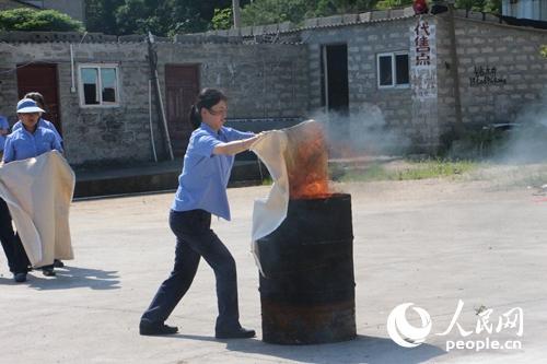 消防毯使用方法步骤图