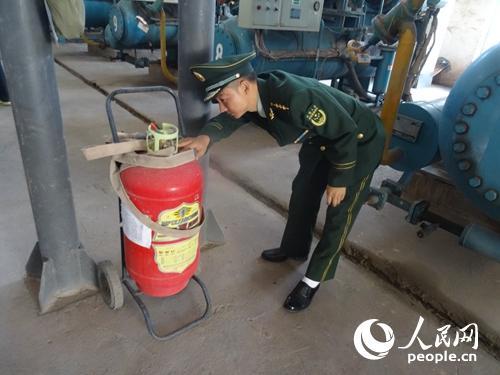 云南巧家消防深入白鹤滩水电站指导今冬明春火灾防控工作