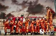 广西消防为退伍老兵拍写真