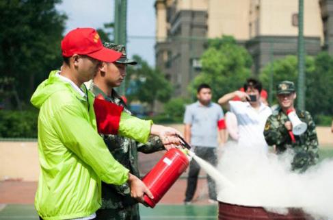 应急疏散演练进社区